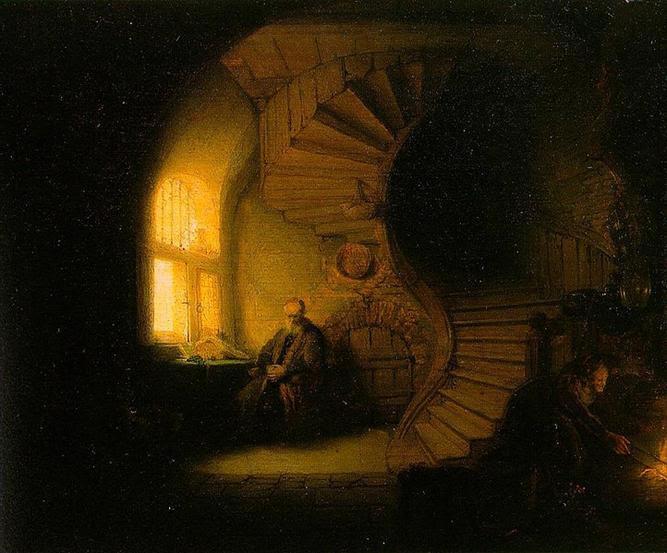 File: Rembrandt - o filósofo em Meditation.jpg
