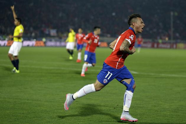 Copa America Results 2015: Latest Group Tables, Schedule Post-Chile vs. Ecuador