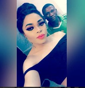 Hilarious video of Bobrisky and his gate-man warning