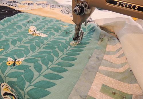 Outlining the Tea Towel Design Elements