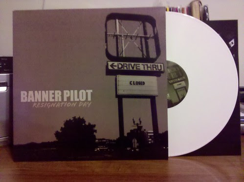 Banner Pilot - Resignation Day LP - White Vinyl