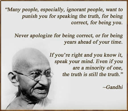 Image result for Quotes about Satyagraha
