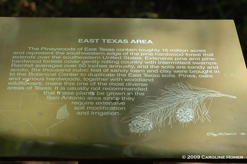 East Texas exhibit