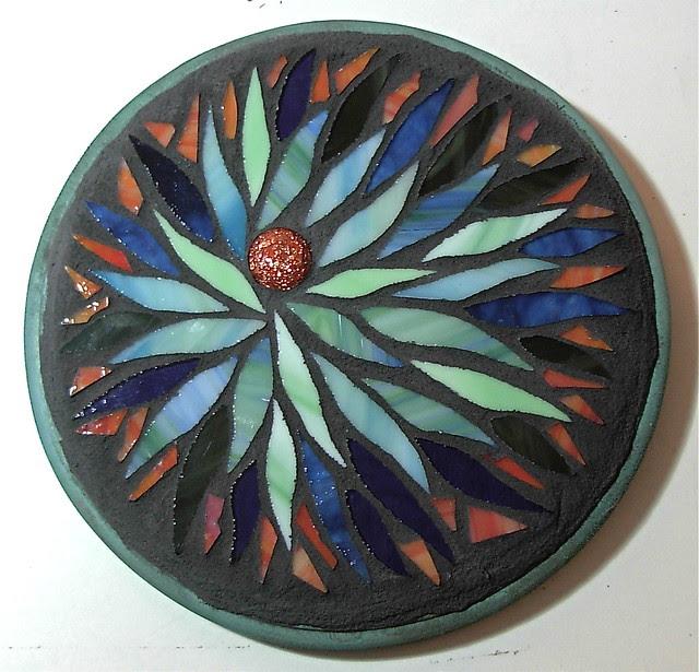 47  308/365  scraps of faithfulness mandala