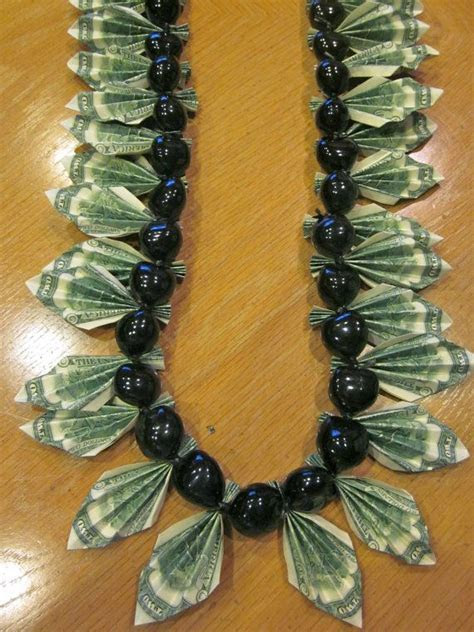 Graduation Money Lei   Reserved for Jeanette B