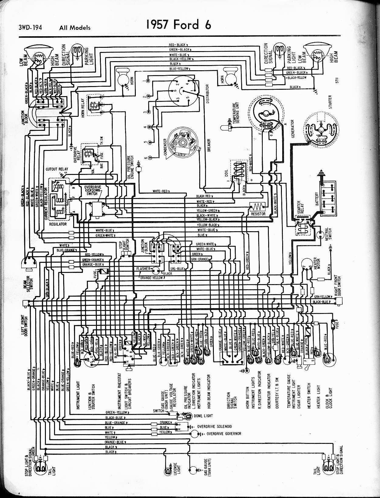 1951 Ford Brake Wiring Diagram