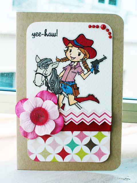 Yee-haw-card