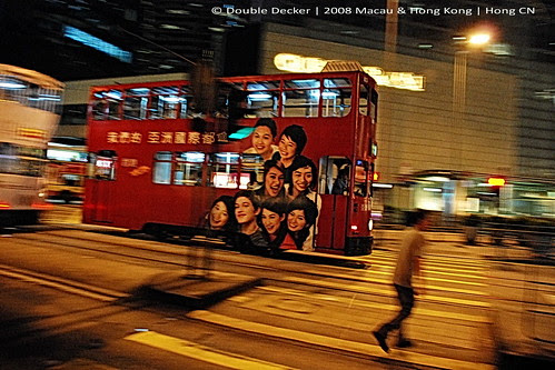 Red Double Decker Tram