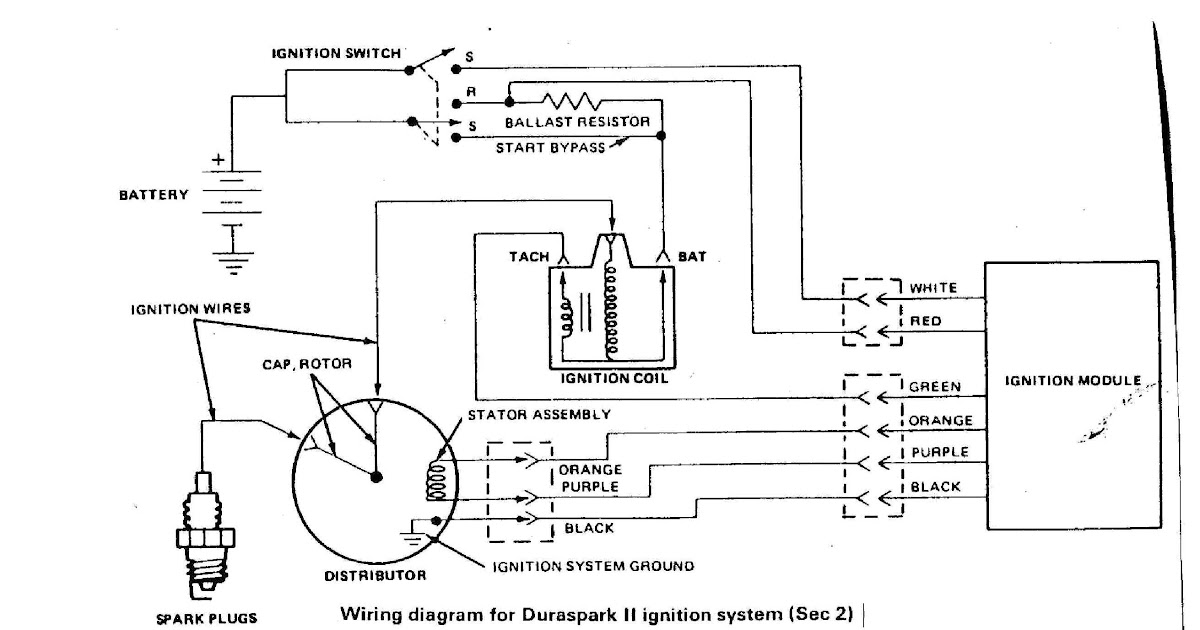 Ignition Ballast Resistor Diagram