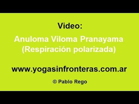 Ejercicio de respiración: Anuloma Viloma Pranayama (Respiración polarizada)