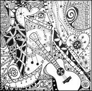 Coloriages Anti Stress Fete De La Musique