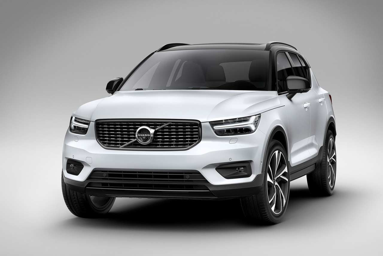 Volvo XC40 SUV introduced; Production begins in November  AUTOBICS