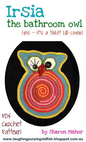 Irsia the bathroom owl