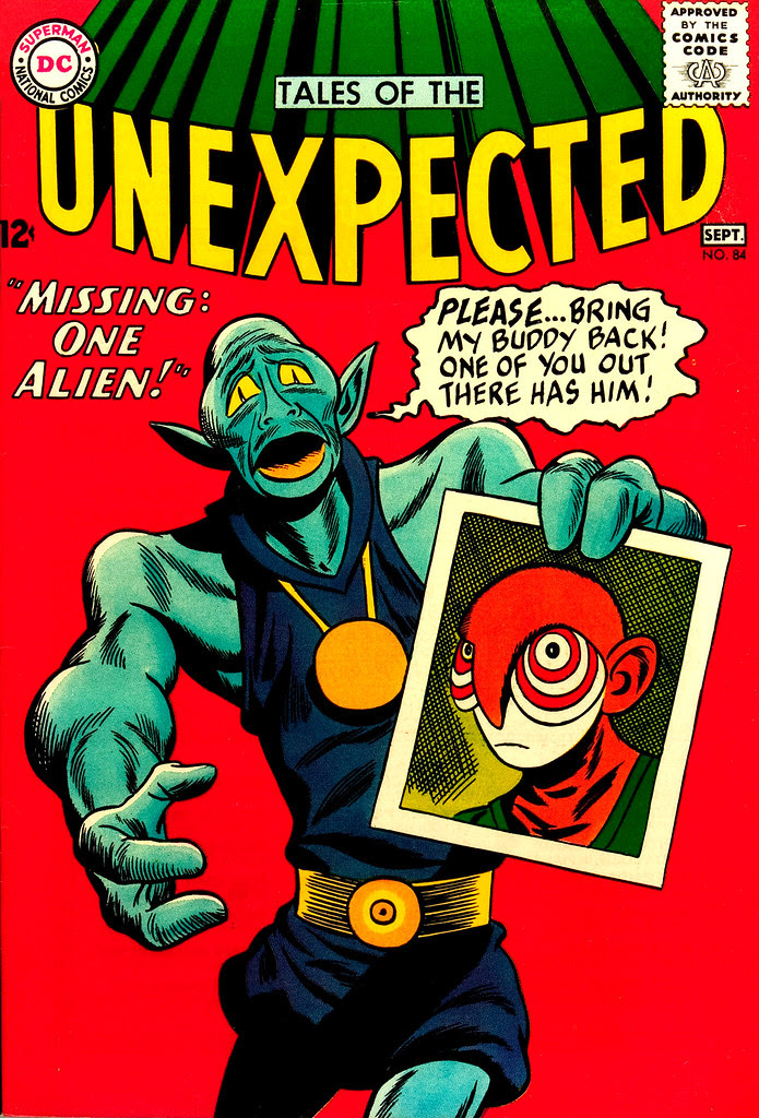 Tales of the Unexpected #84 (DC, 1964) Sheldon Moldoff cover