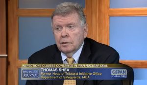 Former Head of Trilateral Initiative Office, Department of Safeguards, International Atomic Energy Agency. Photo: Screenshot.