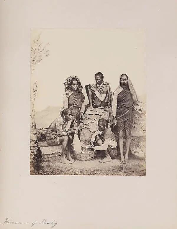 Fisherwomen of Bombay (Mumbai) - 1855 - 1862