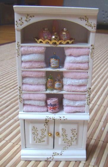 Miniaturas armarios para el ba o - Armario para el bano ...