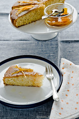 Orange Vanilla Semolina Cake by by Meeta K. Wolff