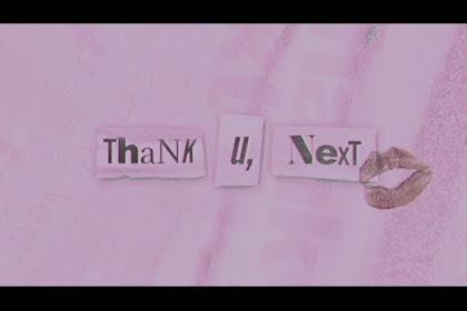 Download Lagu dan Lirik Thank U Next Ariana Grande