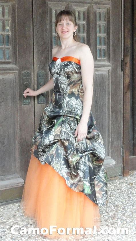 The Ten Most Awesome Camo Formal Wedding Dresses For a