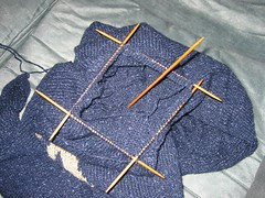 Double Pointed Knitting