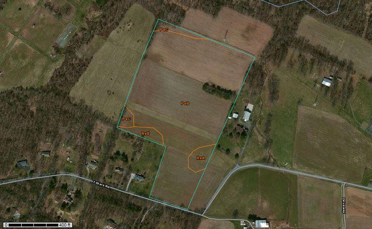 Web Soil Survey- find the soil survey for you property.