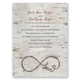 Love for Infinity Petite Invitation   Invitations By Dawn