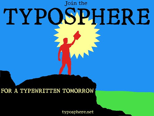 Sloganeering for the Typosphere