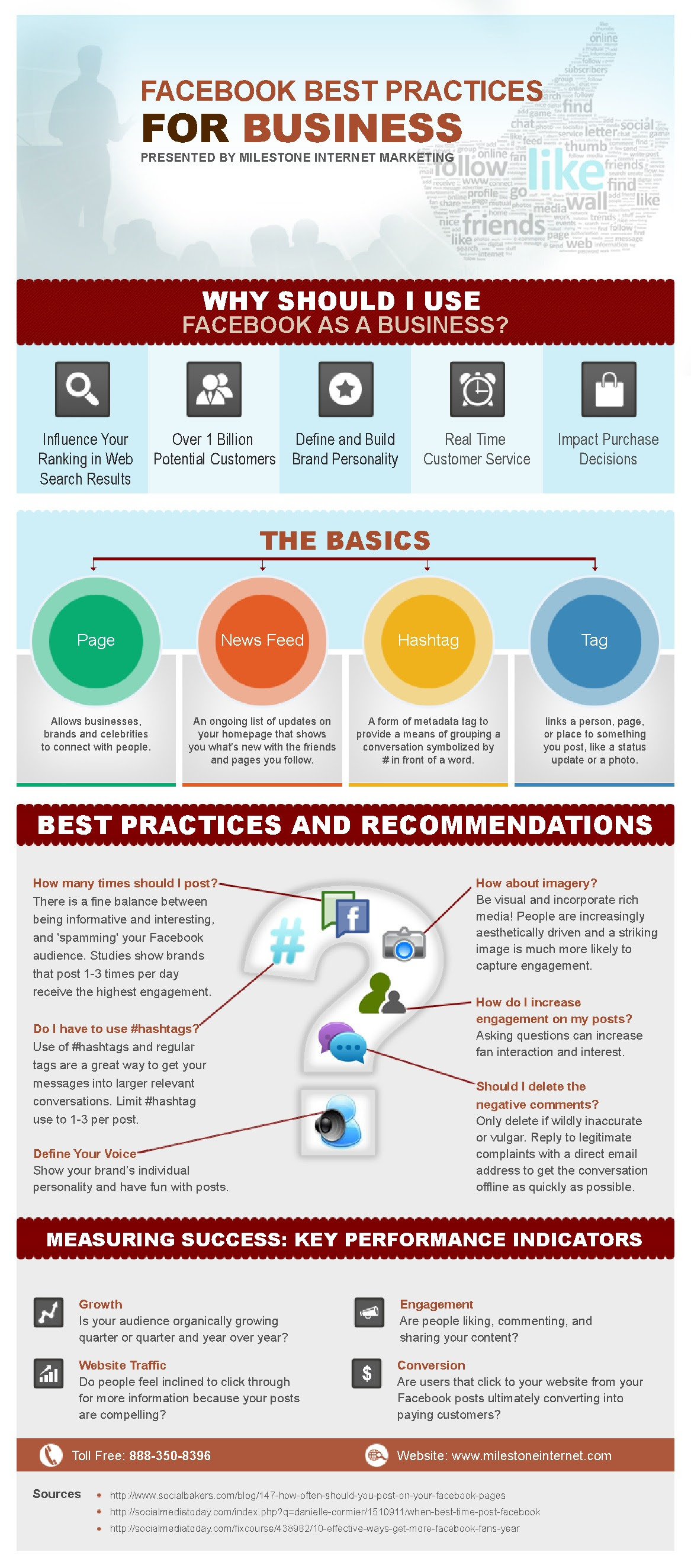 Facebook Best Practices And Recommendation For Brands [INFOGRAPHIC]