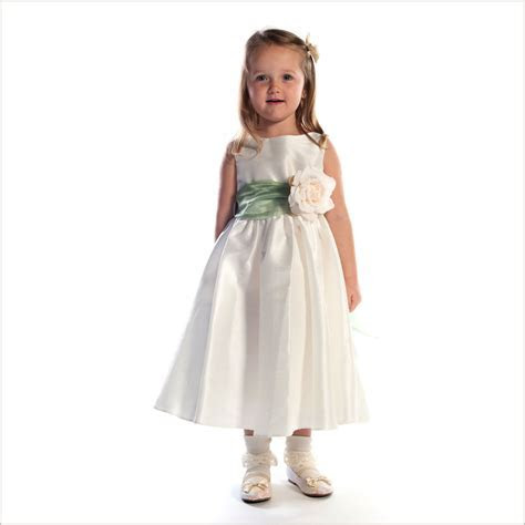 Belle childs bridesmaid dress with removeable sash for