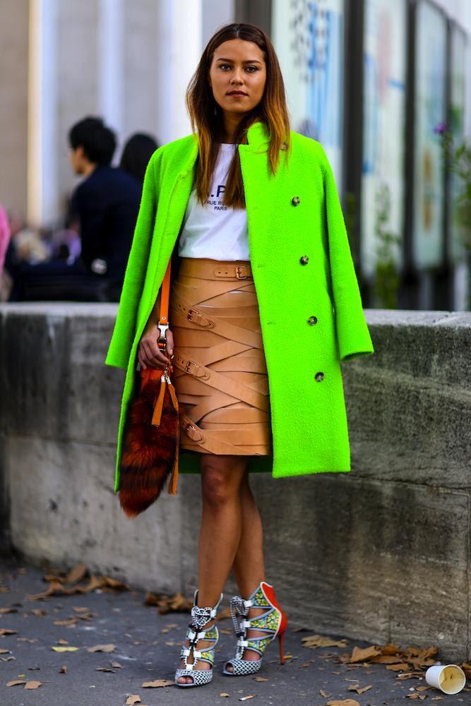 Paris Fashion Week Spring 2015 Street Style