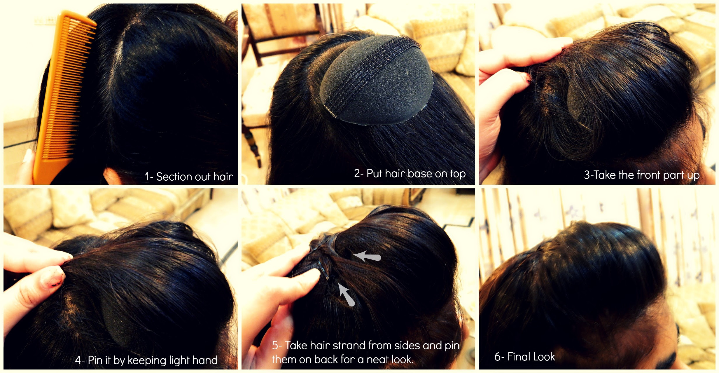 Step By Step Hairstyles For School GirlsHairstyles Messy Bun