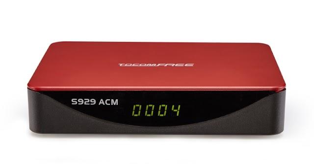 TOCOMFREE S929 ACM NOVA ATUALIZAÇÃO V1.3.2 - 18/12/2017
