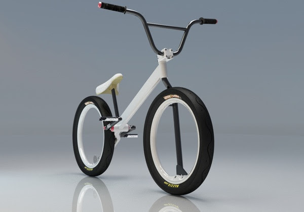 spokeless bike