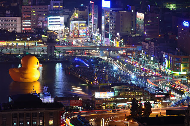 2014.01.05 基隆 / 黃色小鴨 / Rubber Duck