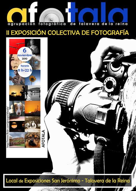Cartel Exposición Afotala San Jerónimo