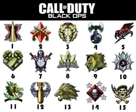 black ops prestige 15. lack ops prestige 15 logo.