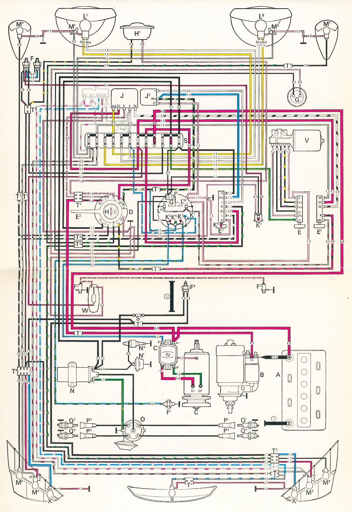 Beetle Wiring Diagram