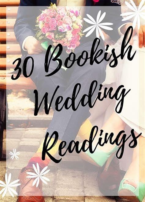 Best 25  Literary wedding readings ideas on Pinterest
