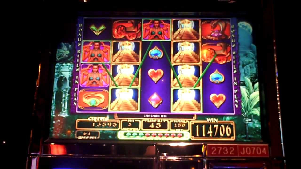 Slot jackpots on video