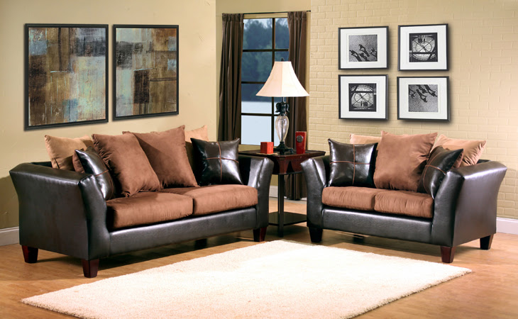 Ava Furniture Houston - Cheap, Discount Living Room Set-2 pc ...
