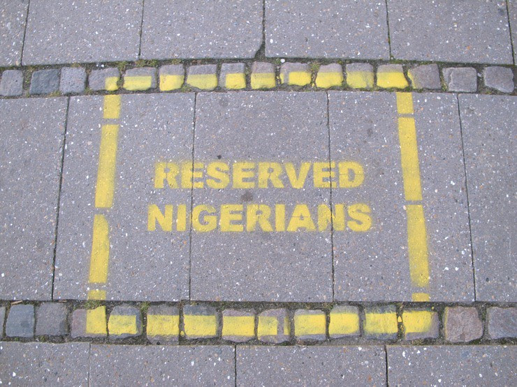 Reserved for Nigerians
