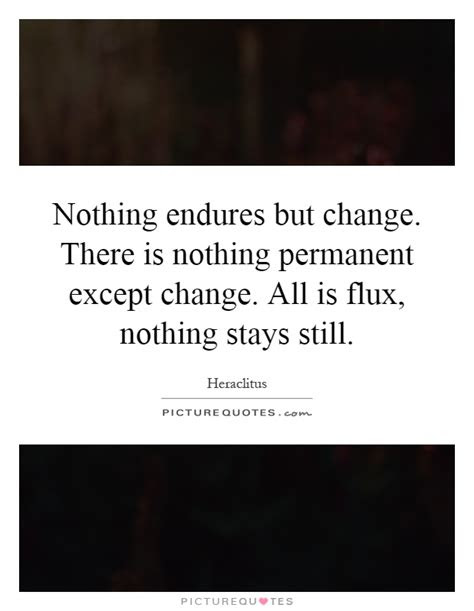 Nothing Stays Permanent Quotes