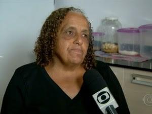 A artesã Dalva Maria de Souza (Foto: Reprodução/TV Globo)
