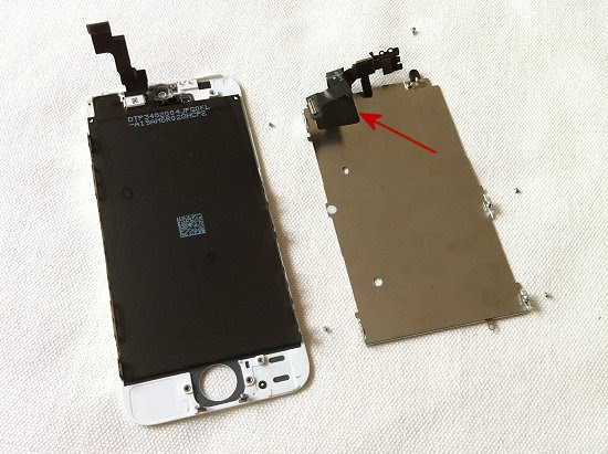 iPhone 5S disassembly stage 19