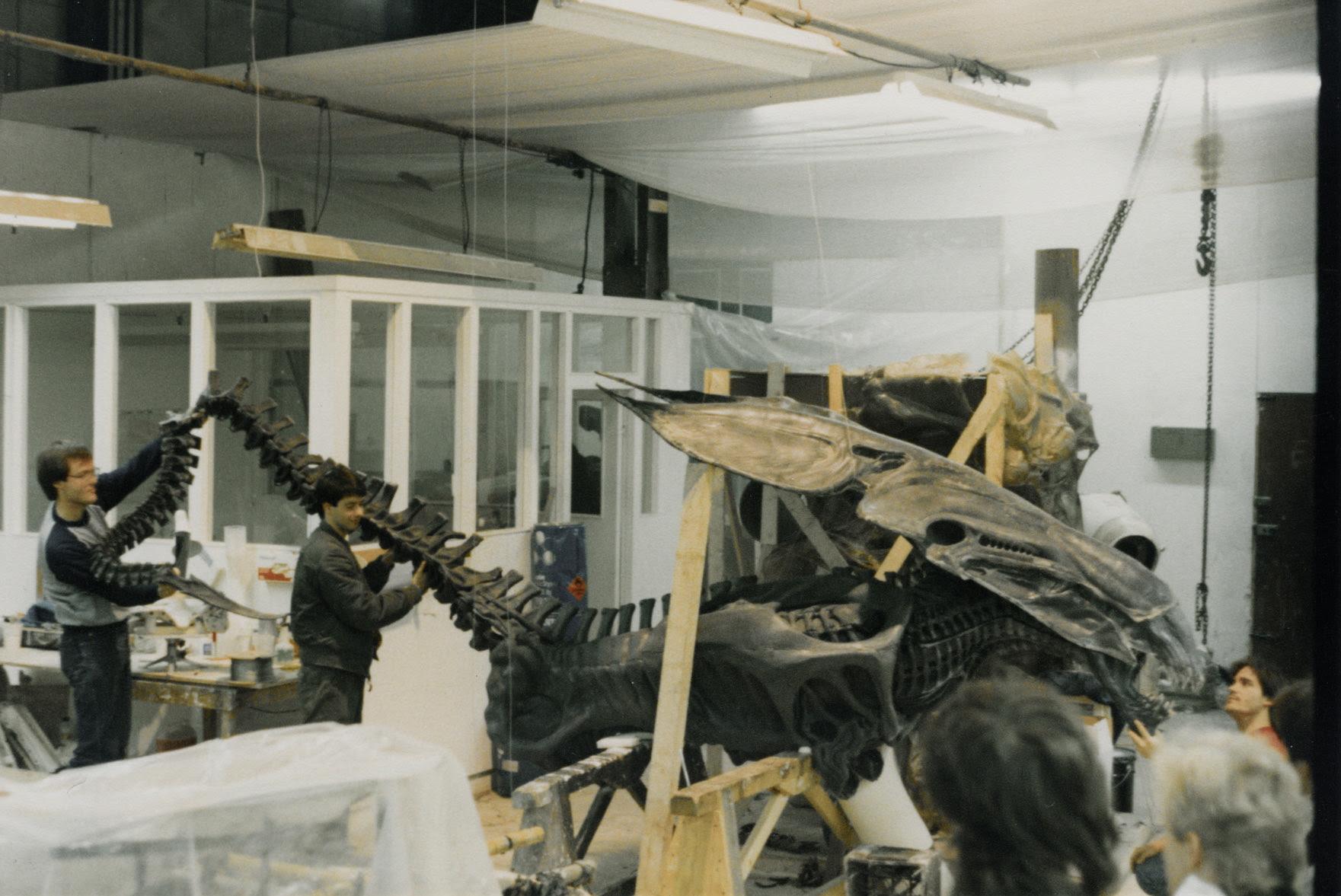 photo tournage coulisse cinema Alien2 47 Photos sur des tournages de films #2  photo featured cinema 2 bonus