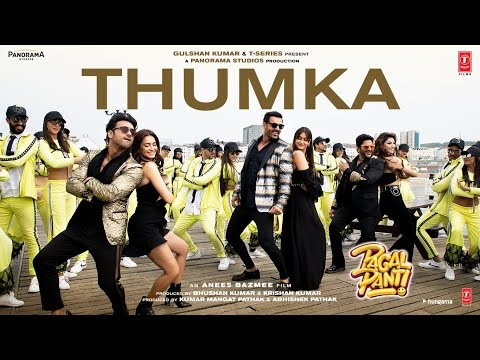 Thumka Hindi Lyrics / YO YO Honey Singh / Pagalpanti / 2019