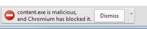 Chrome anti-malware