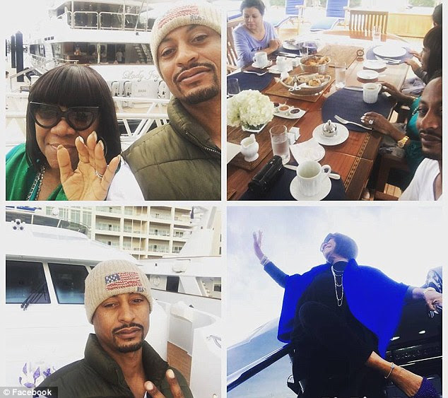 The new couple spent three days during Christmas with songwriter Denise Rich on her yacht in the Bahamas. Seats and LaBelle posed for lots of fun vacation photos that he shared on social media