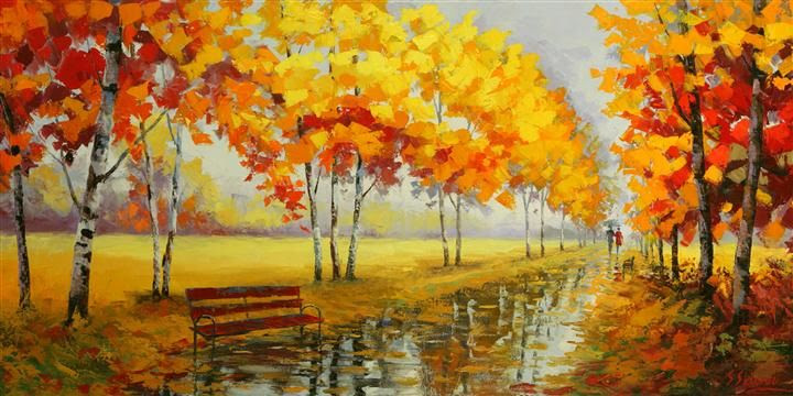 Blissful Fall by Stanislav Sidorov available on UGallery.com